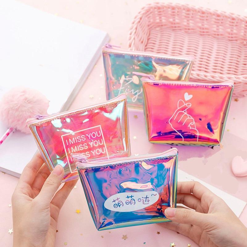 ETya/модные детские сумки для монет, кошелек из ПВХ для женщин и женщин, маленький мини кошелек для монет, на молнии, для ключей, для наушников, держатель для монет, кошелек