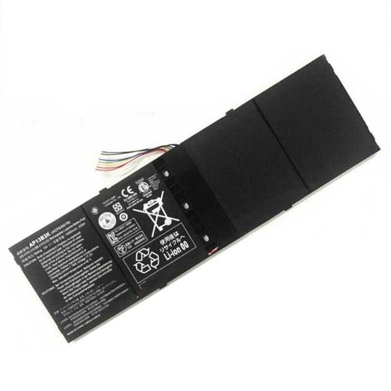 AP13B3K nueva 3560mAh batería del ordenador portátil para Acer Aspire V5 R7 V5-572G V5-573G V5-472G V5-473G V5-552G M5-583P V5-572P R7-571 AP13B8K