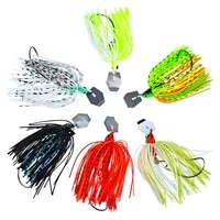 1pcs 12g15g20g silicone jig head skirt beard fishing lures fly rubber swim bass hook bait isca artificial para pesca leurres