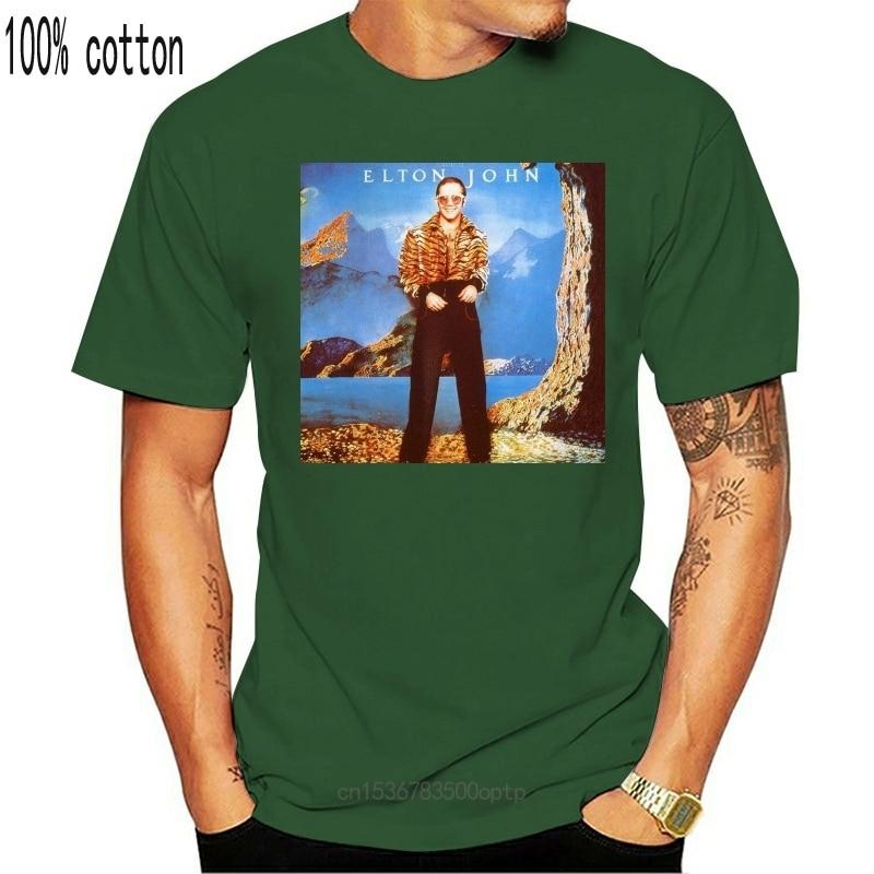 New 2021 Elton John Caribou 1974 Vintage Classic Mens T-Shirt