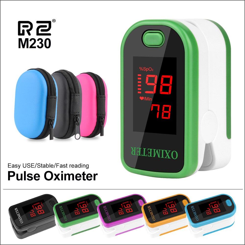 RZ Portable Finger Pulse Oximeter Digital pulsioximetro Household Health Monitor Heart Rate SPO2 PR Saturimetro Pulse Oximeter