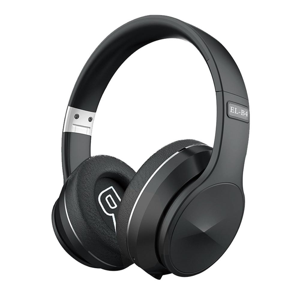 Willkey B4 складные Bluetooth 5,0 наушники HiFi Беспроводные спортивные супер бас стерео музыкальные наушники для телефонов игровая гарнитура