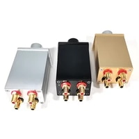 high precision passive pre amplifier volume controller can be matched with post amplifier active speakers