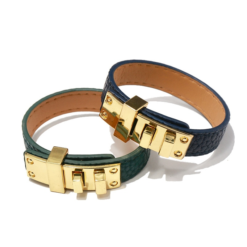 Новинка 2021, роскошные ювелирные изделия, модный кожаный браслет, Женские Ювелирные изделия