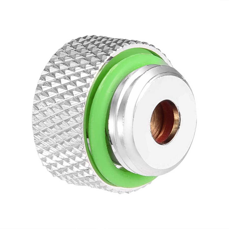 Válvula de ventilación de rosca G1/4, Conector de escape automático, enchufe para sistema de refrigeración de agua por ordenador