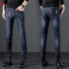 2020 nouveau coton jean hommes de haute qualité célèbre marque Denim pantalon doux hommes pantalon printemps jean mode grande grande taille 36 37 38