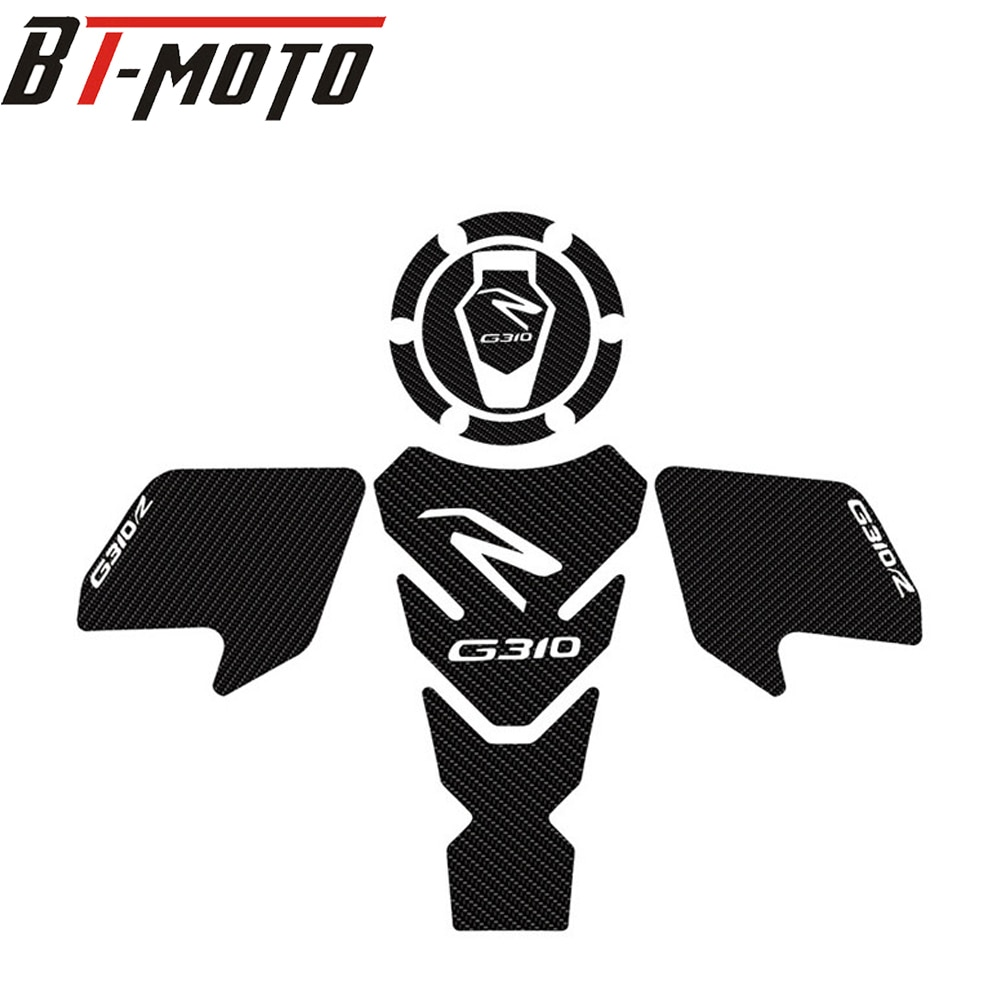 Motorcycle Real Tank Pad Gas Fuel Sticker Moto Decal Emblem Protector FOR BMW G310R G310GS G310 R G310 GS 2016 real new moto moto z love no ugly as osu bb07 1 outdoor cic history mo saddlebag multi rot women one con la cope r suddenly