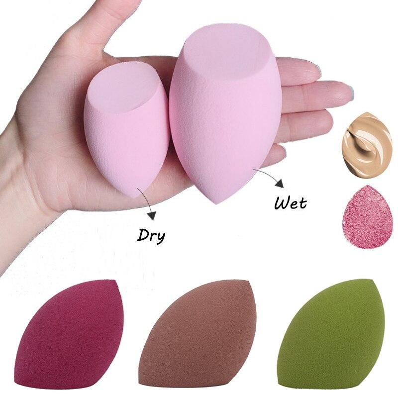1pcs Water Drop Shape Cosmetic Puff Makeup Sponge Blending Face Liquid Foundation Cream Make Up Cosm