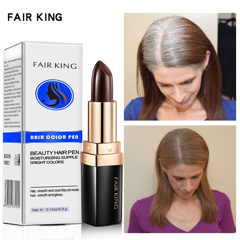 Temporary Hairline Hair Dye Cream One-Time Hair dye Instant Brown Root Coverage Hair Color Cream Cover Up White Hair Color