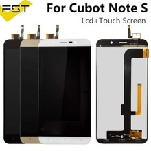 For Note S LCD +Touch Screen for Cubot Note S LCD Mobile Phone Accessory for lcds Cubot Note S Displ