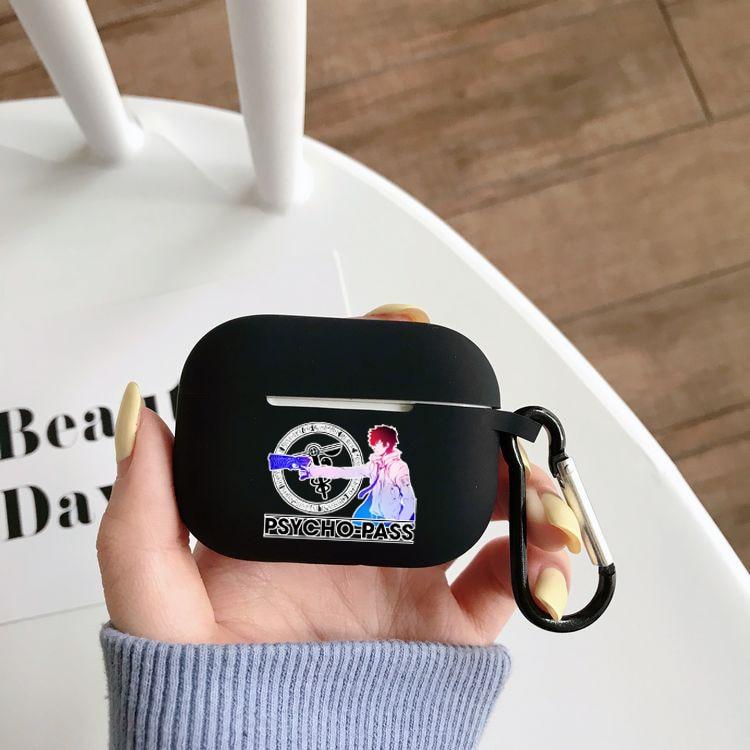 Фото - Чехол для наушников Airpods Pro с аниме психопроходом, чехол для беспроводного Bluetooth Apple Airpods Pro, чехол, силиконовый чехол чехол joyroom jr bp598 для apple airpods pro red
