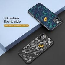 Чехол NILLKIN Striker для Apple iPhone 11 Pro Max, 3D текстура, ТПУ, силикон, спортивный стиль, ПК, задняя крышка для iPhone11 Pro