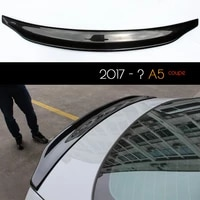 carbon fiber rear car styling lid spoiler trunk wing for audi a5 8w6 2017 2 door coupe only oem fitment