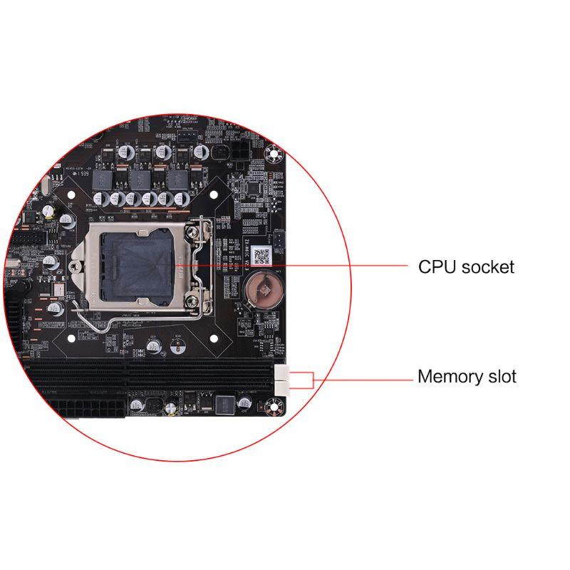 W3JD New P8H61-M LX3 PLUS R2.0 Desktop Motherboard H61 Socket LGA 1155 I3 I5 I7 DDR3 16G uATX UEFI BIOS Mainboard
