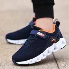 2020 automne enfants chaussures marque de mode en plein air enfants baskets garçon chaussures de course décontracté respirant garçons filles chaussures de sport 891