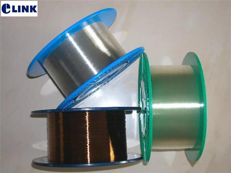 1 MTR gran núcleo de fibra de cuarzo fibra óptica fibra de sílice energía fibra óptica desnuda UV-VIS-IR gran núcleo envío gratis ELINK SM MM