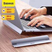 Baseus-Soporte de aluminio ajustable para portátil, elevador plegable para MacBook Air Pro, 11/13/17 pulgadas