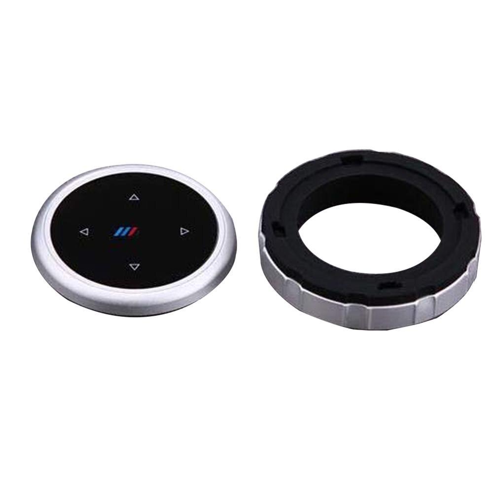 Coche botones Multimedia cubierta iDrive pegatinas para BMW 1, 2, 3, 5 y 7 de la serie X1 X3 F25 X5 F15 X6 16 F30 F10 F07 E90 F11 logotipo M
