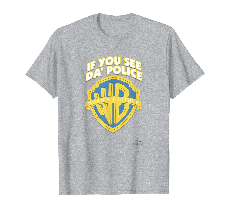 Дизайн Джейми: если вы видите футболку с надписью «полиция» и надписью «Brother»