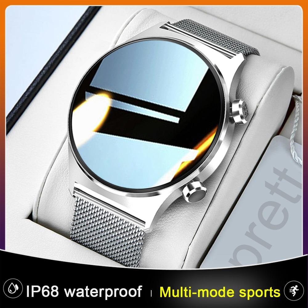 New E1-3 IP68 Waterproof Smart Watch Men Women Full Touch Screen Custom Face Multi-Mode Sports Fashion SmartWatch For Androd IOS