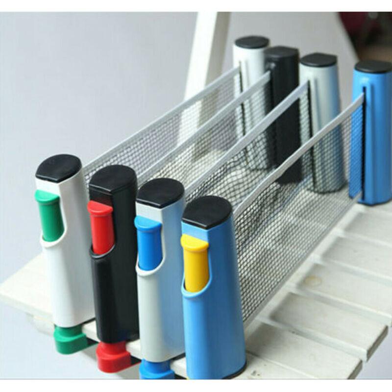 Съемная стойка для настольного тенниса портативная выдвижная стойка для пинг понга для любых столов аксессуары для спортивных инструментов