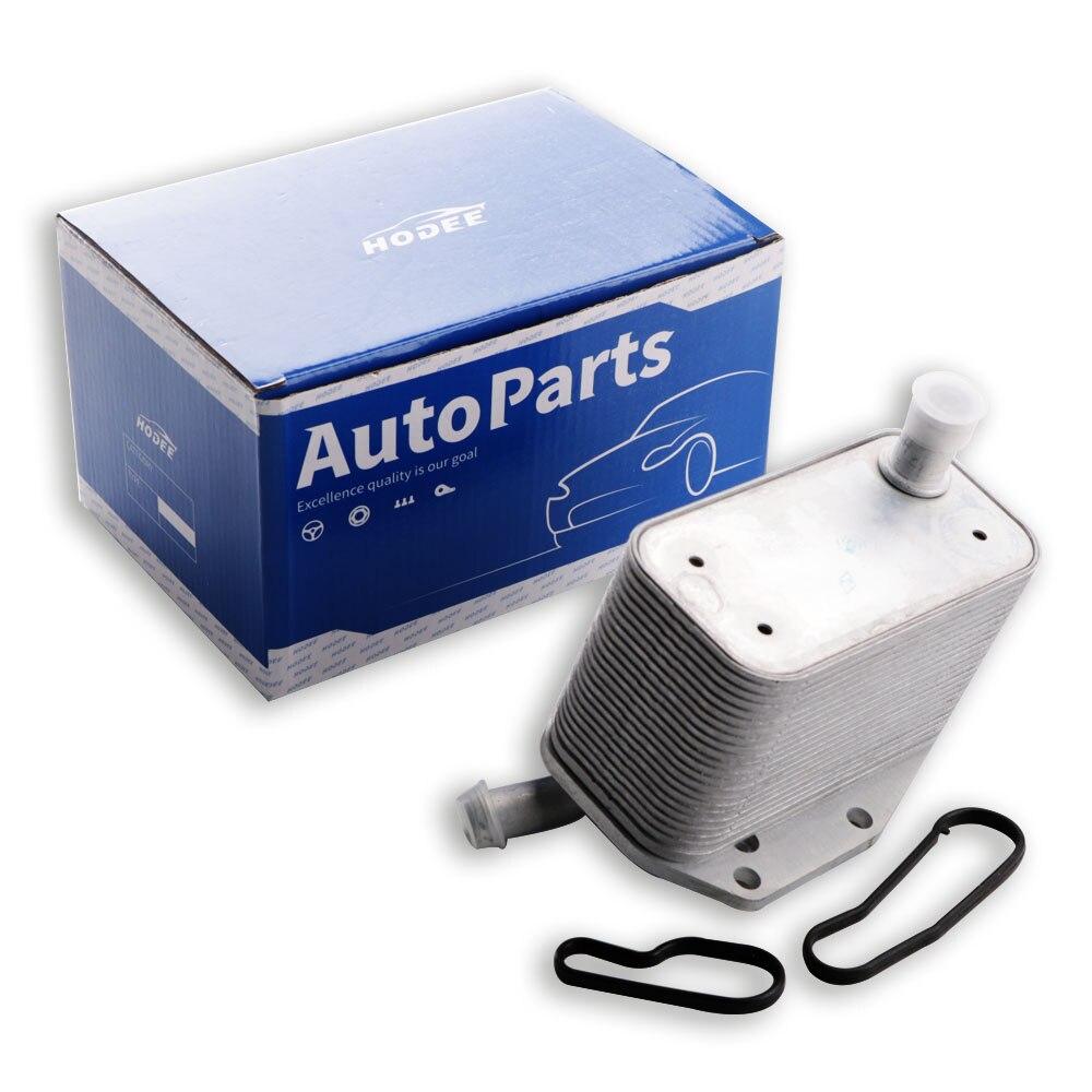 HODEE-refroidisseur dhuile sans Port   Pour Land Rover LR2 OE 30757620 / LR041422 / 8G9N-6A642-AA / 5989070282