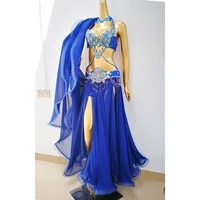 sexy women performance outfits professional belly dance costume set bollywood showgirl dancer belly dance wear cloths