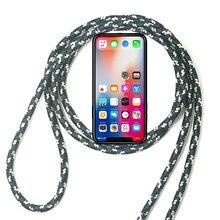 Cover for Lenovo ZUK Z2 Plus Edge Vibe Z Z2 Pro Mini K900 K910 920 Z6 Lite Youth Lanyard Necklace Shoulder Neck Strap Rope Case