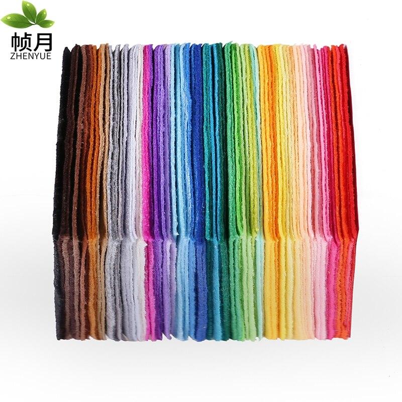 Fabricantes de 4.000 copias de tela no tejida de fieltro, 1mm de espesor, fieltro de poliéster de decoración del hogar para coser muñecas artesanales