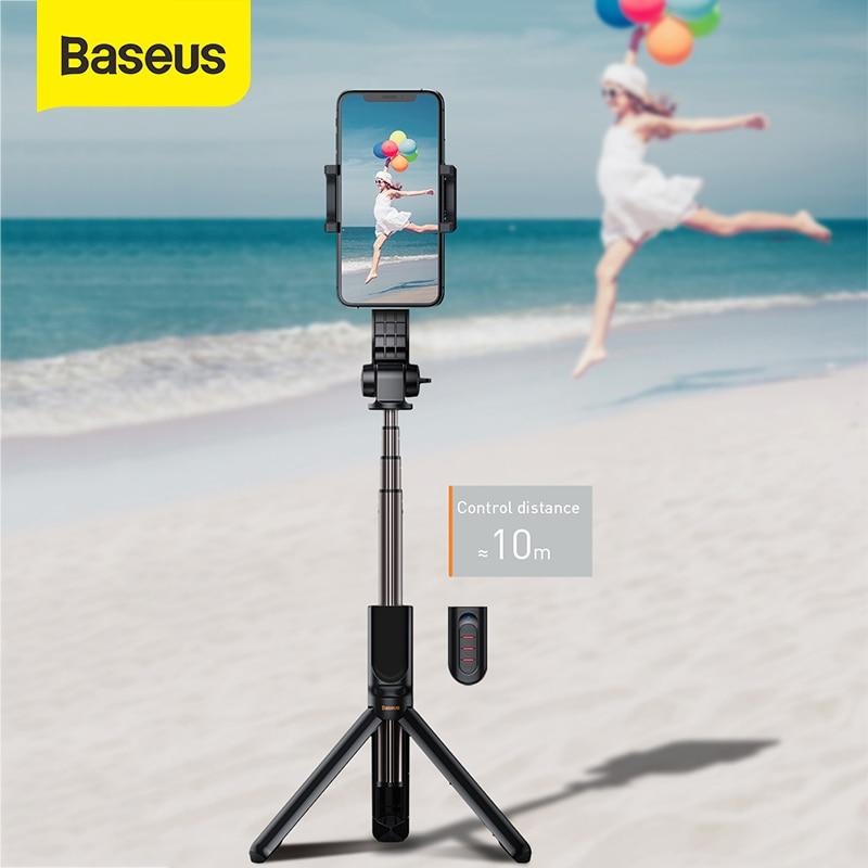 Baseus Selfie عصا لاسلكية Monopod التوازن مقبض الرياضة كاميرا صغيرة كاميرا فيديو ترايبود آيفون IOS أندرويد