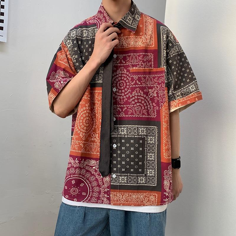 Camiseta de verano para hombre con estampado de Tailandia Vietnam, camiseta de estilo coreano, camisetas Harajuku japonés estilo Hippie, blusa holgada a la moda, ropa de calle