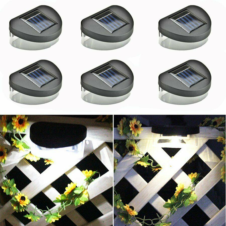 jardim a prova dwaterproof agua iluminacao solar exterior lampada de parede 3 led