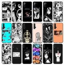 Funda de silicona suave Junji Ito horror Anime para Huawei Mate 30 20 10 Lite Pro Mate 20 Mate 10 Honor 20 Pro, funda