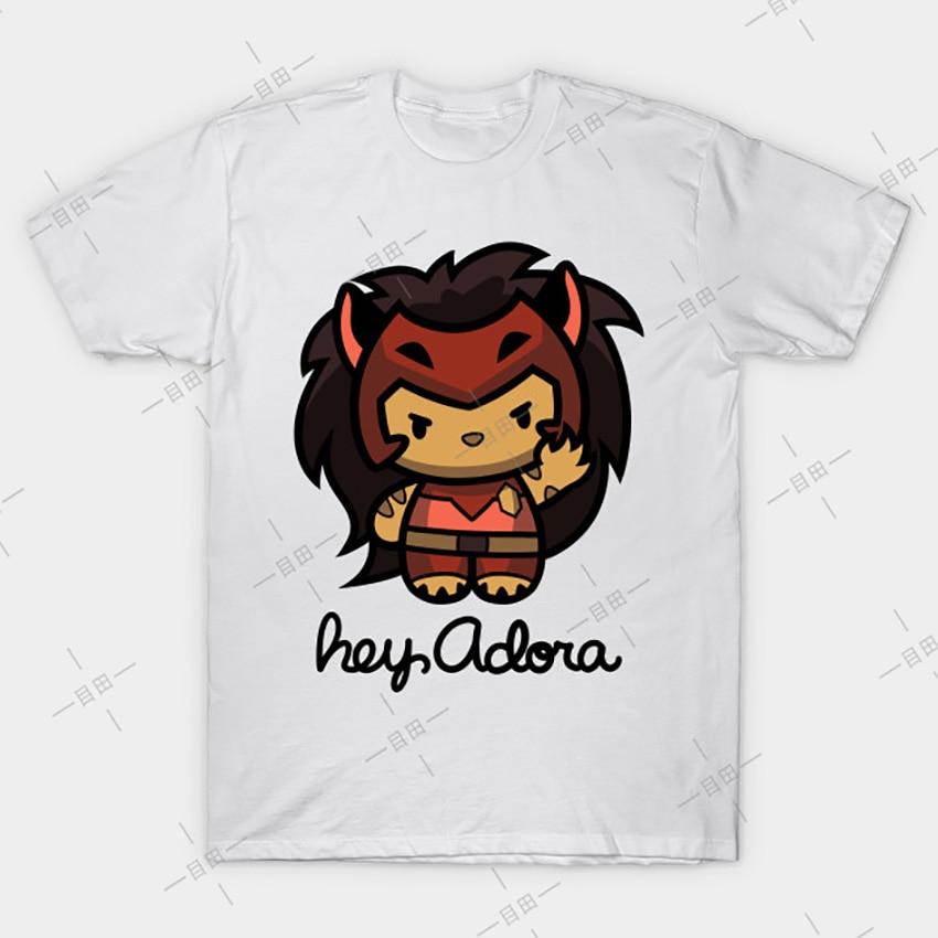 Hey Adora T shirt Catra tee 80s gay cute lgbt she ra and the princesses of power adora netflix