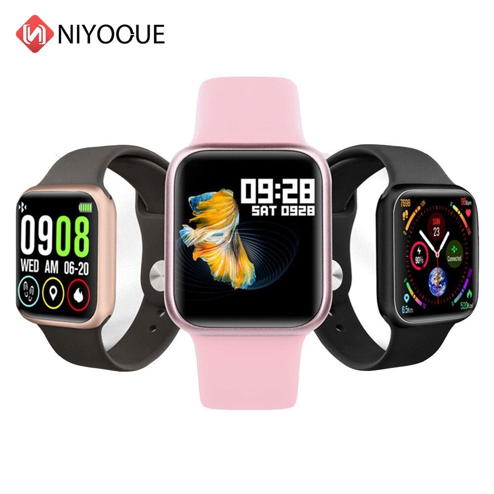 Reloj inteligente Original P90, Monitor de ritmo cardíaco, banda inteligente para teléfono Xiaomi, cargador de cable, pulsera Bluetooth para Android IOS