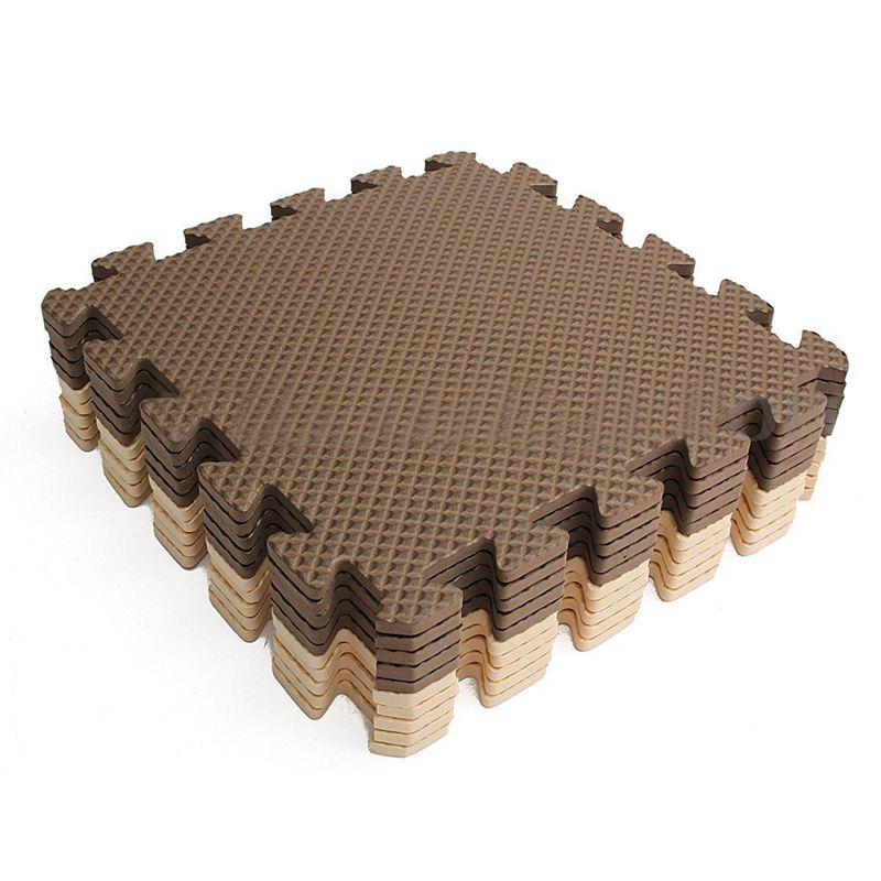 New-20x eva puzzle exercício tapete de jogo bloqueio piso telhas macias quantidade 20 pces