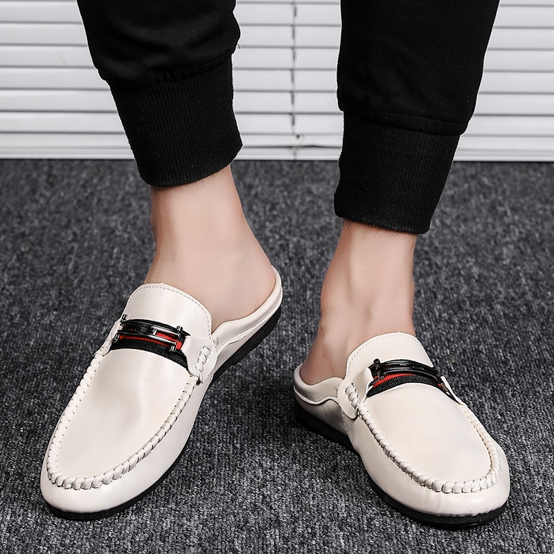 Spring Summer Mens Loafers Lightweight Comfortable Flat Casual Shoes Men Breathable Slip on Driving