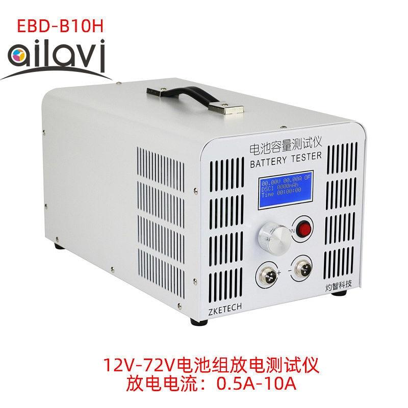 EBD-B10H 12 V-72 V 24V36V48V60V batería de ácido de plomo de litio probador de capacidad 10A descarga de corriente soporte de prueba de Software de PC