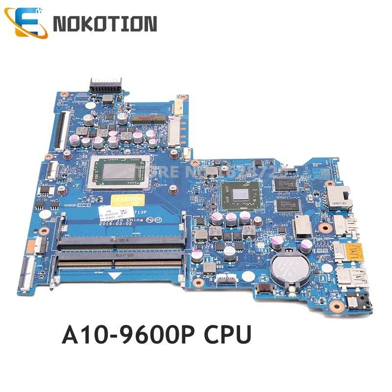 NOKOTION BDL51 LA-D713P محمول لوحة رئيسية لأجهزة HP دفتر 15-BA 854959-601 854959-001 854960-001 A10-9600P CPU M445DX GPU