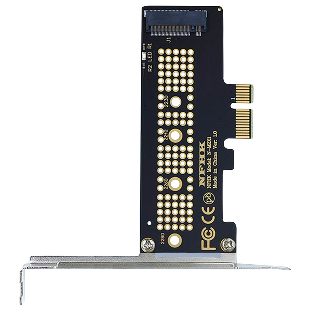 Hot Sale NVMe PCIe x4 x2 M.2 NGFF SSD to PCIe x1 converter card adapter PCIe x1 to M.2 New Arrival m 2 ngff pcie 4 lane ssd to pci e pcie 3 0 x4