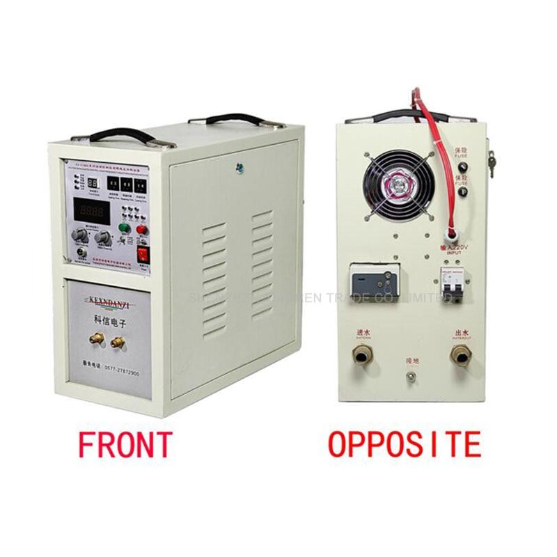 1 قطعة عالية التردد التعريفي فرن KX-5188A18 التسخين بالحث آلة التثبيت شاشة ديجيتال التدفئة التعريفي الفرن