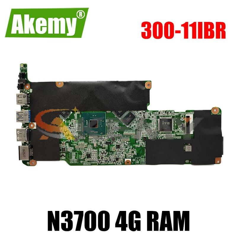 Akemy لينوفو اليوغا 300-11IBR FLEX3-1130 BM5488 اللوحة الأم للكمبيوتر المحمول 5B20K13584VCPU N3700 4G RAM 100% اختبار العمل