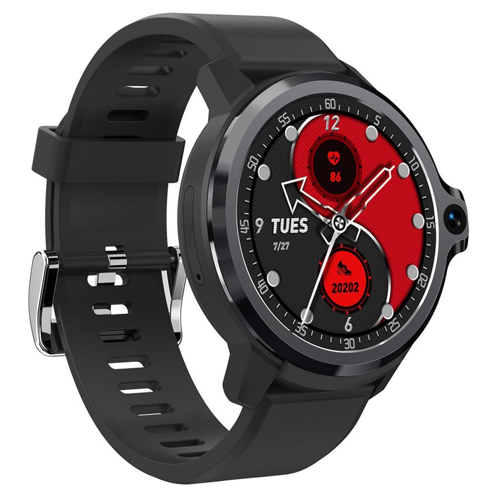Get Smartwatch 2021 KOSPET PRIME S 1GB 16GB Smart Watch Men Dual Mode Camera Bluetooth-compatible GPS 4G Android Smart Watch IP67
