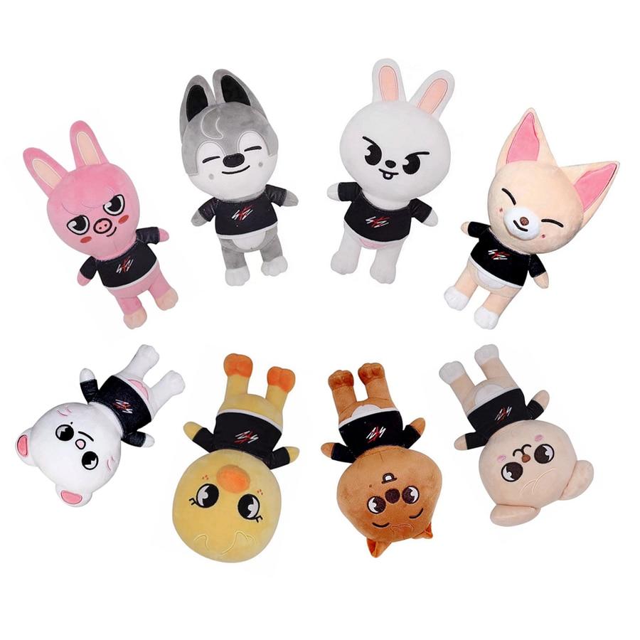 Плюшевые игрушки Skzoo бродячие Детские Мультяшные набивные животные плюшевые куклы кавайный спутник для детей и взрослых подарок плюшевая к...