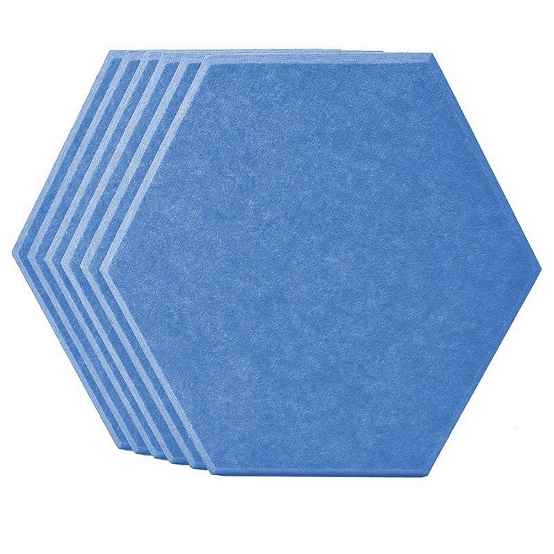 12 шт. в упаковке, Акустические панели 14x13x0,4 дюймов Bevled звука края панели, используемые в отделки стен и акустической обработки