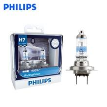Philips H7 12V 55W Racing Vision plus 150% plus lumineux voiture phare Auto halogène lampe rallye Performance ECE 12972RV S2, paire