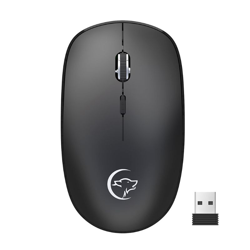 2.4GHz Wireless Mouse Mute Optical Gaming Mice 800/1200/1600 DPI USB Receiver for PC Computer Laptop Notebook