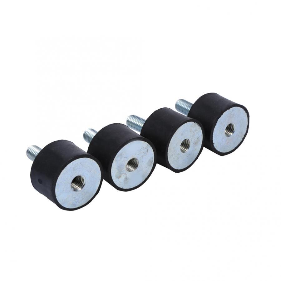 4 pçs montagens amortecedor anti vibração silentblock bobinas m8 m6 acessórios do carro de borracha isolador vibração montagens