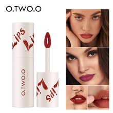 O.TWO.O Velvet Matte Lip 18 Shades Lip Mud Long Lasting Women Fashion Waterproof  Lip Gloss Lip Tint