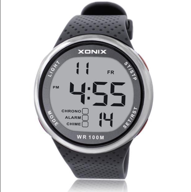 Reloj deportivo para Hombre, cronógrafo Digital multifunción, resistente al agua, militar, para...